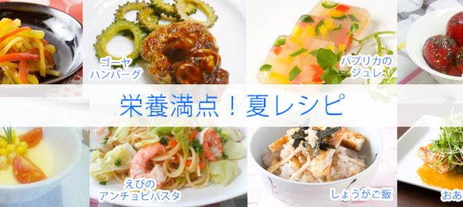 夏の栄養満点レシピ!